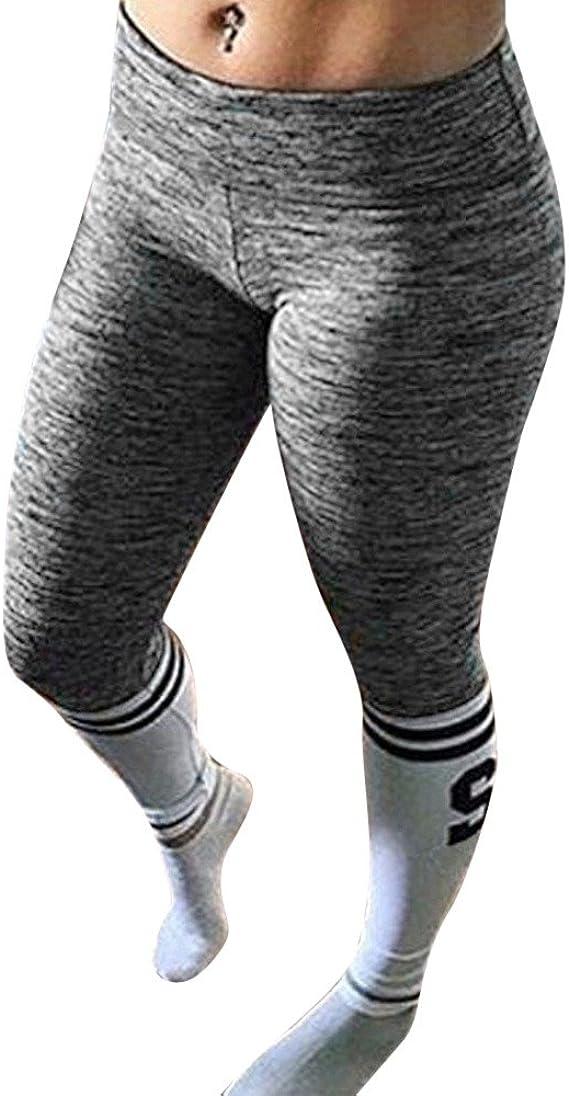 Pantalones Yoga Mujeres Mallas Deportivas Mujer Cintura Alta ...