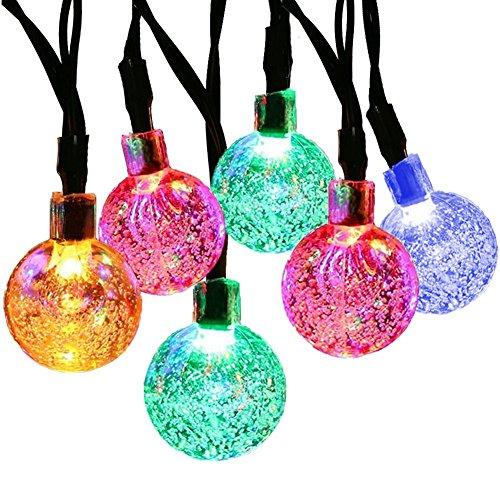 Multi Colored Solar Christmas Lights String