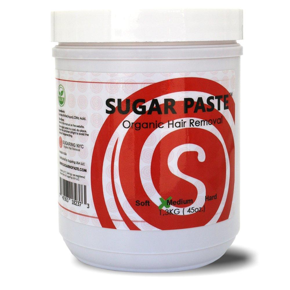 Sugaring Paste Medium 1.3kg 45Oz (Bikini, Brazilian, Underarms, Face)