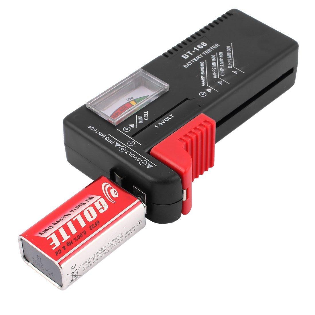 Amazon.com: eDealMax código de Color medidor de batería Comprobador Tester Volt Cell AA AAA CD 9V Botón: Health & Personal Care
