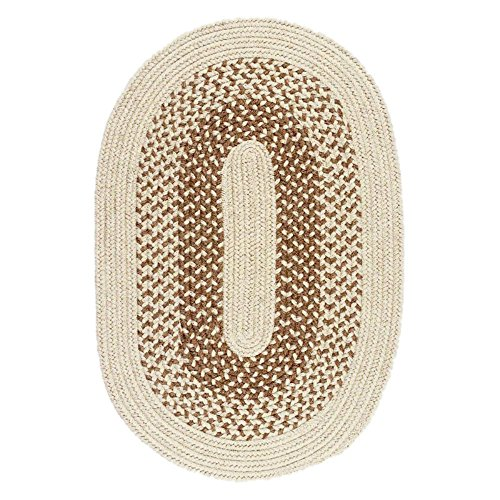 Colonial Mills Jackson Braided Rug - Oatmeal - Colonial Mills Jackson Oatmeal