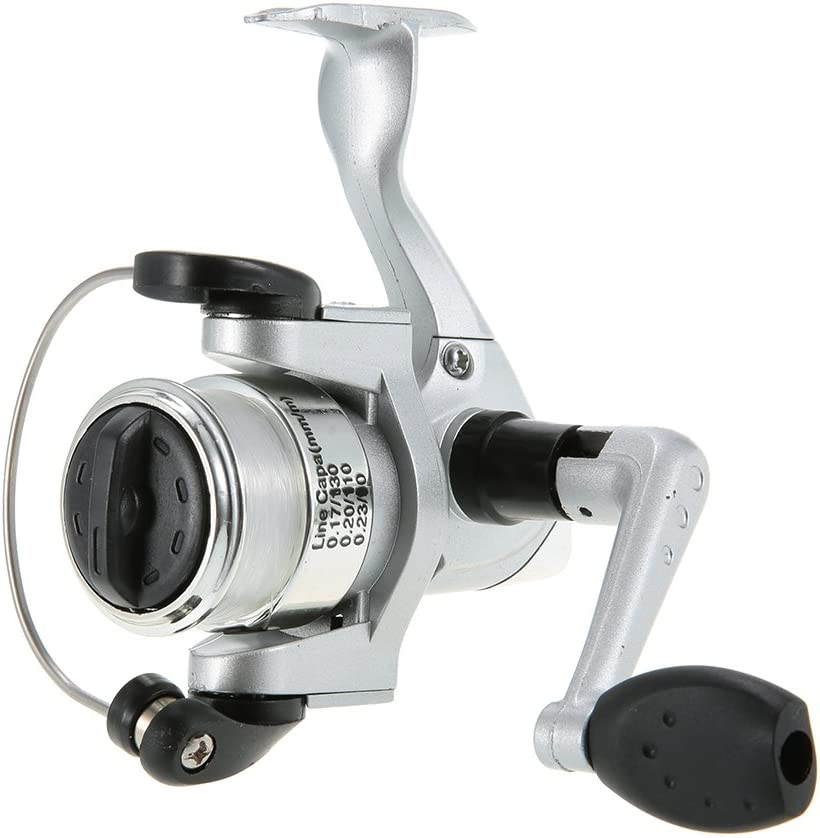 Aufroller Lixada Angelrute Aluminium Pocket Pen Rod Fishing Mini Teleskop Angelrute Pole