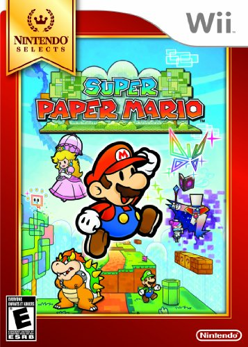 Super Paper Mario Nintendo Selects Wii