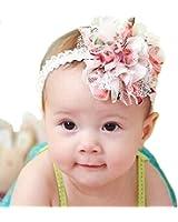 allbeauty baby infant pink christening flower