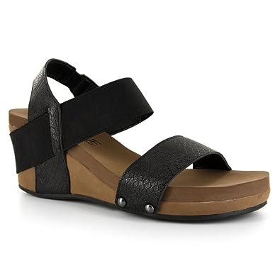 1abd08821467 Corkys Footwear Women s Bandit Wedge Sandal (6