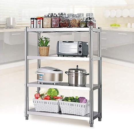 Amazon.com: Estantería - Soporte para suelo de cocina de ...