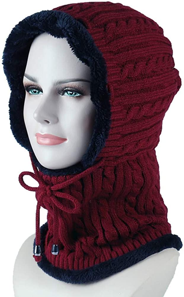 3-in-1 Winter Hats Cold...