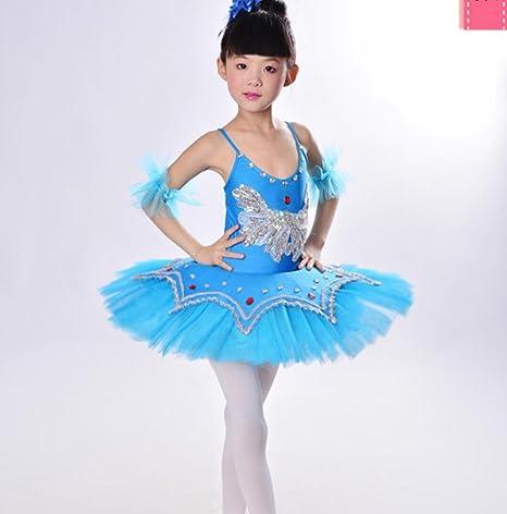 Disfraz de Bailarina para niñas con Vestimenta de Ballet práctica ...