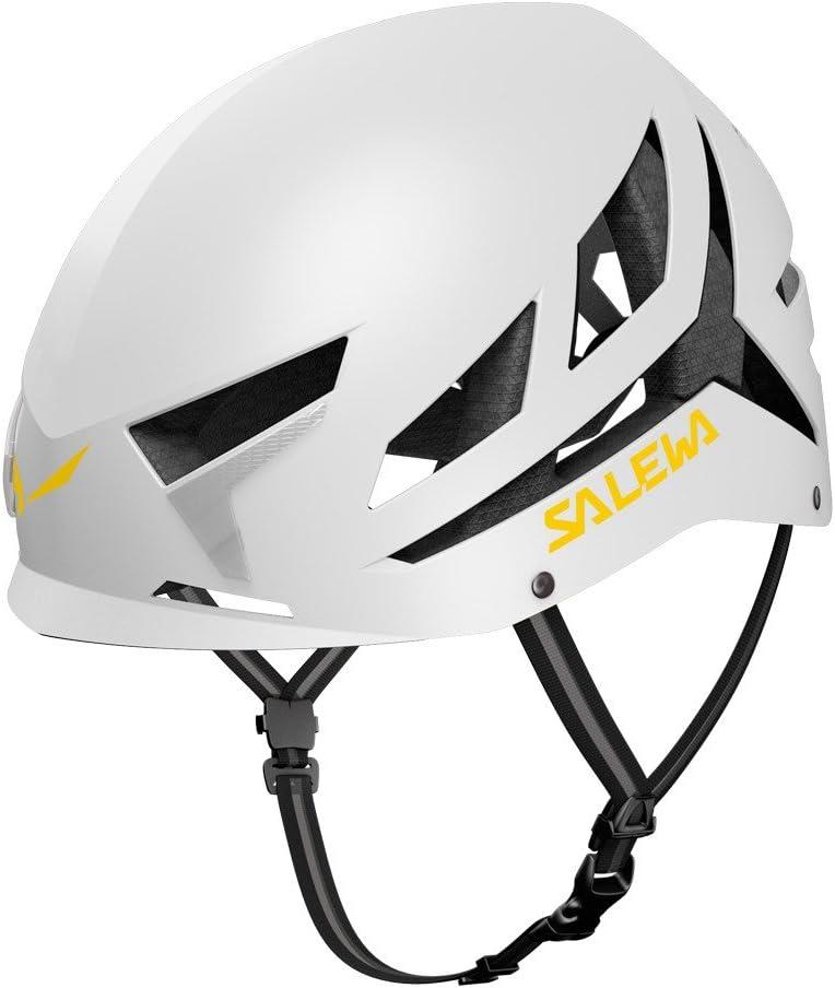 SALEWA Vayu Helmet Casco de Escalada, Unisex Adulto, Blanco ...