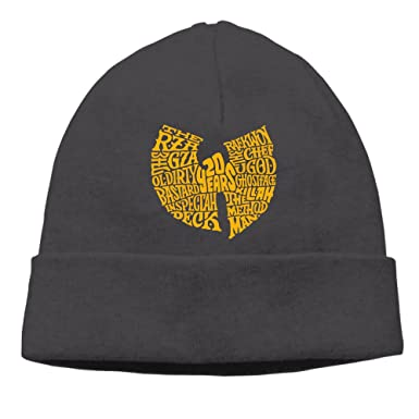 00f227f95 Amazon.com: Vowoi Wu Tang Clan Hip Hop Style Logo Winter Knit Cap ...