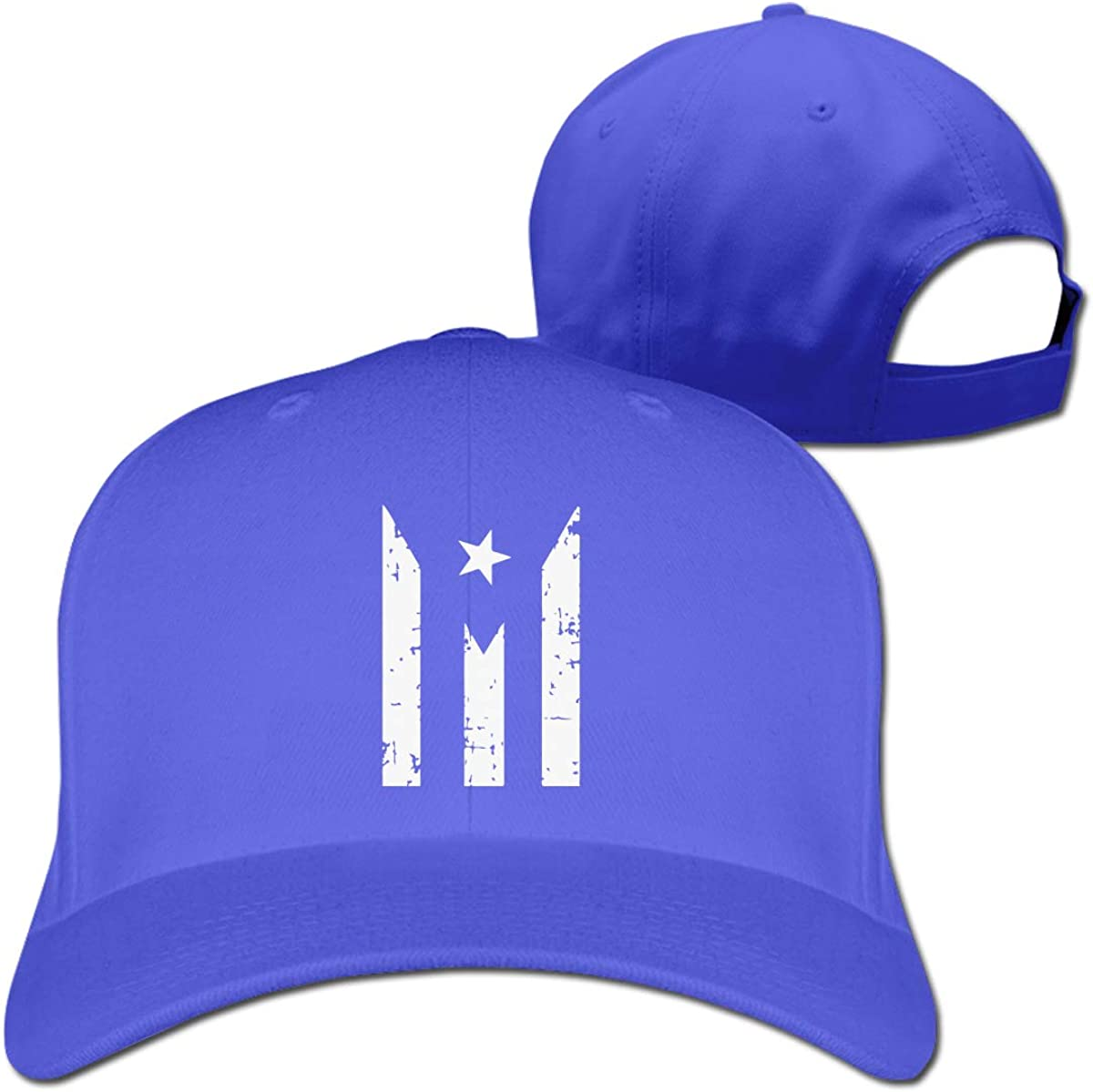 Puerto Rico Resiste Boricua Flag Unisex Pure Color Baseball Cap Classic Adjustable Visor Hat