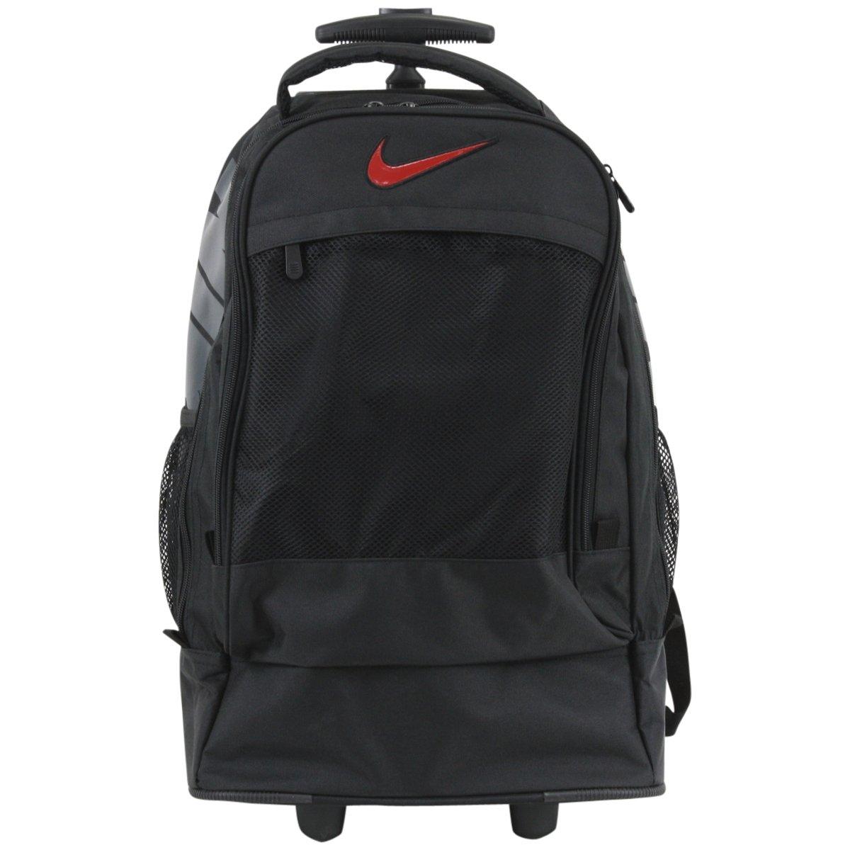 nike rolling backpack blue