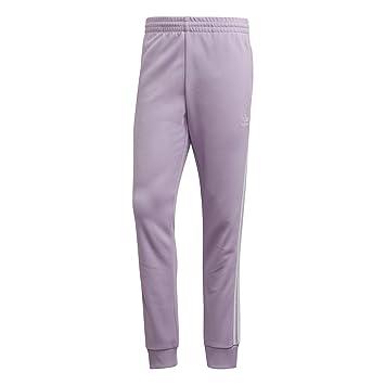 49e024022eedc adidas SST TP Pantalon de survêtement Purple Glow: Amazon.fr: Sports ...
