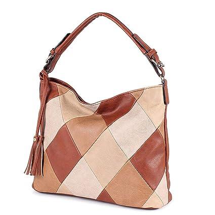 20bee882df15 Amazon.com  Luxury Handbags Women Bags Tote Shoulder Bag Blue About 37cm  12cm 28cm  Sports   Outdoors