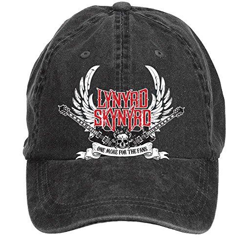 Tommery Unisex Lynyrd Skynyrd Logo Hip Hop Baseball Caps