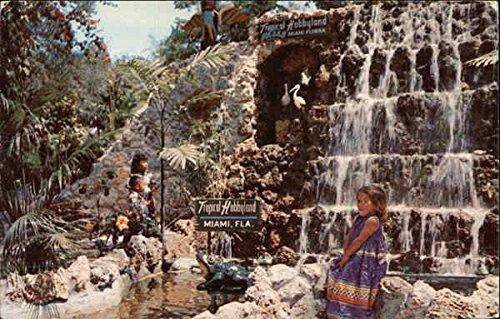 Hobbyland Falls Miami, Florida Original Vintage - The Florida Miami Falls