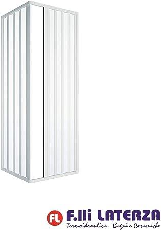 Dianydro - Mampara de ducha, color blanco, talla única: Amazon.es: Hogar