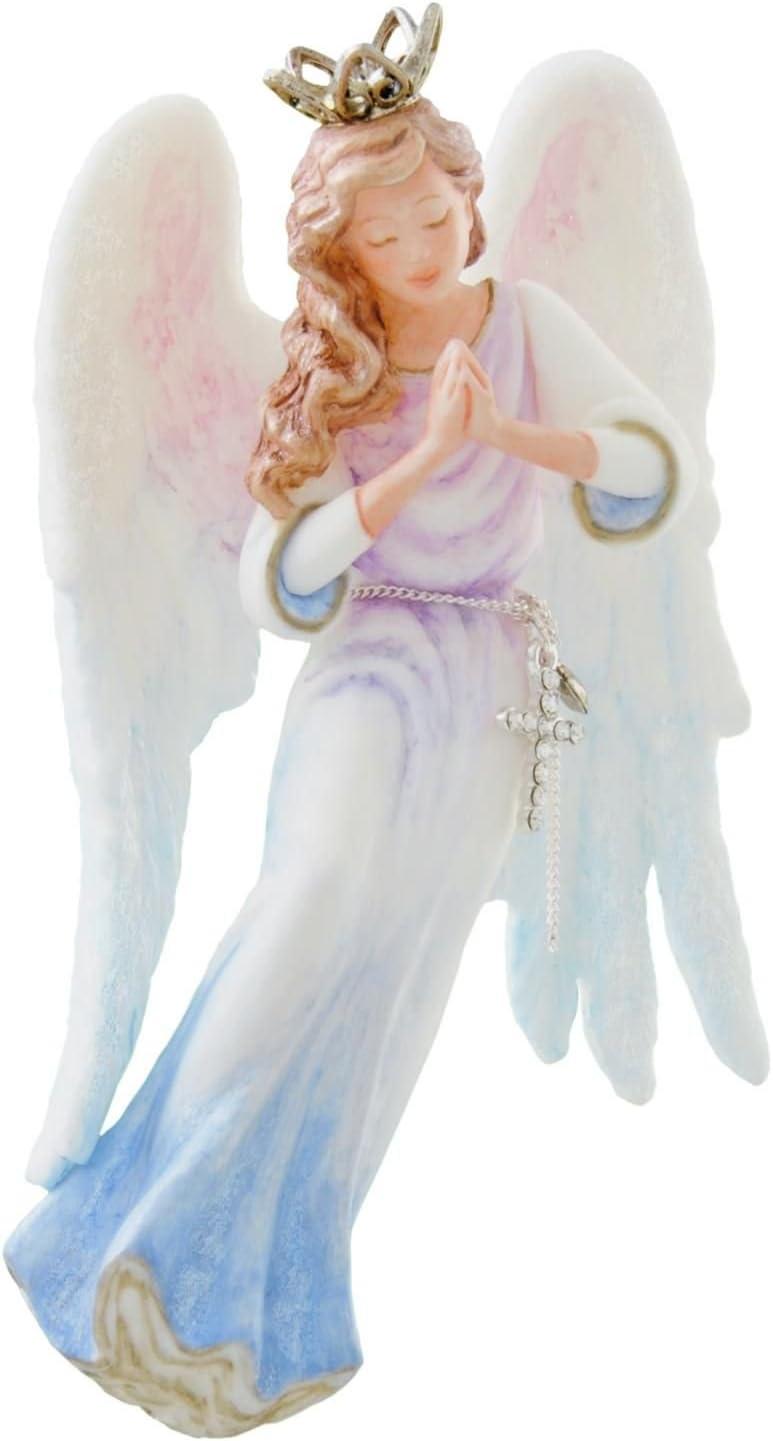 Feliz Navidad 2014 Angel Armful of Blossoms Hallmark Keepsake Ornament