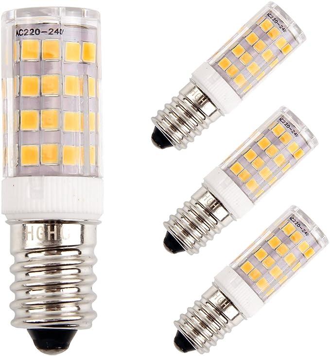 E14 LED Maíz Bombillas 5W AC220V 400LM, 35W incandescente ...