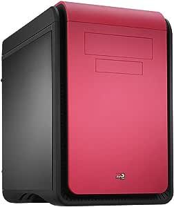 Aerocool DSCUBEPK- Caja Gaming para PC (máxima refrigeración-mínimo Ruido, ATX, Cuatro Slots de expansión, USB 2.0/3.0, Audio HD), Rosa: Amazon.es: Informática