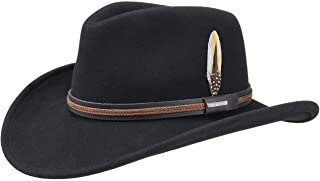 product image for Stetson Chasney Western VitaFelt Hat Men - Made in USA