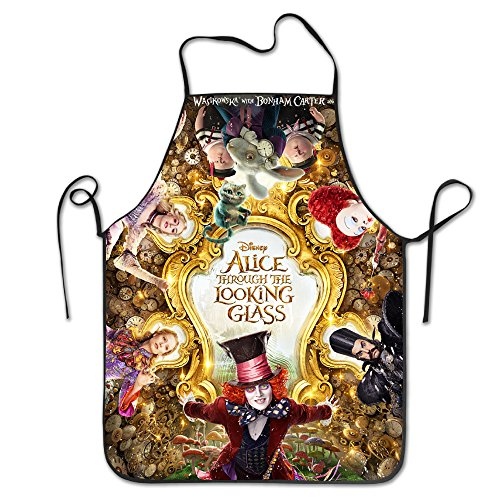ALICE THROUGH THE LOOKING GLASS Poster Personalized Kitchen Cooking - Glasses With Brad Pitt