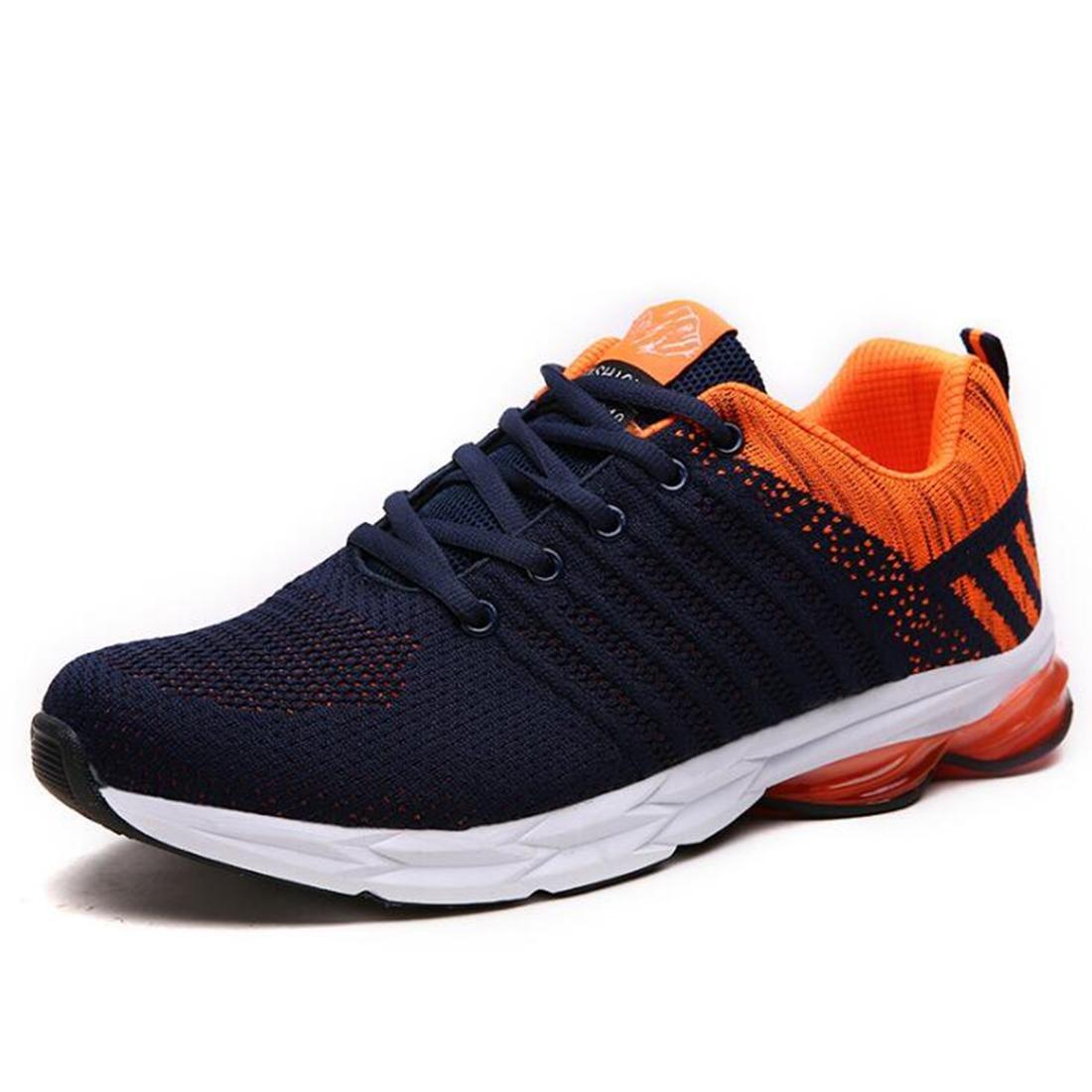 Otoño Loisirs de Plein Air zapatillas de moscas de moda los zapatos de running de la moda de los modelos para caballero, naranja, 44 44|naranja