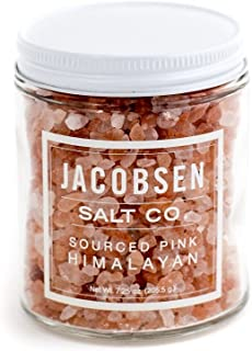 product image for Jacobsen Salt Co. Pink Colored Himalayan Specialty Sea Salt, Extra Coarse, for Gourmet Cooking, 7.25 Ounce
