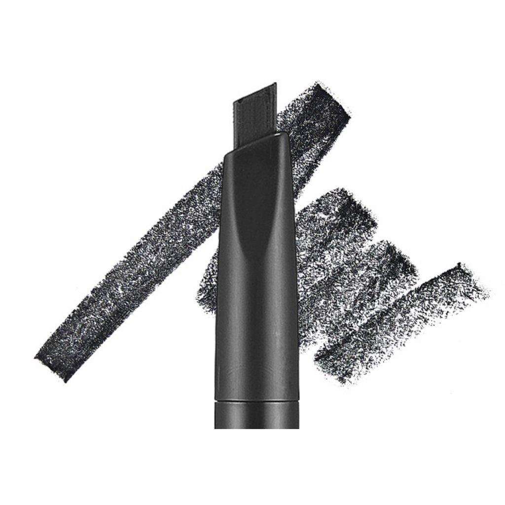Etude house drawing eye brow 0 25g 6 black long lasting eyebrow pencil soft textured natural daily look eyebrow makeup