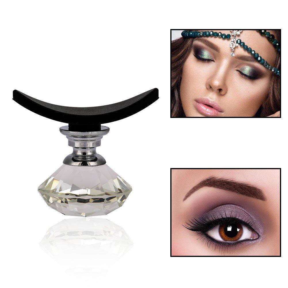 Sonew Modèle de pochoir de fard à paupières en cristal, yeux réutilisables fard à paupières fard à paupières shaper rapide(01#)