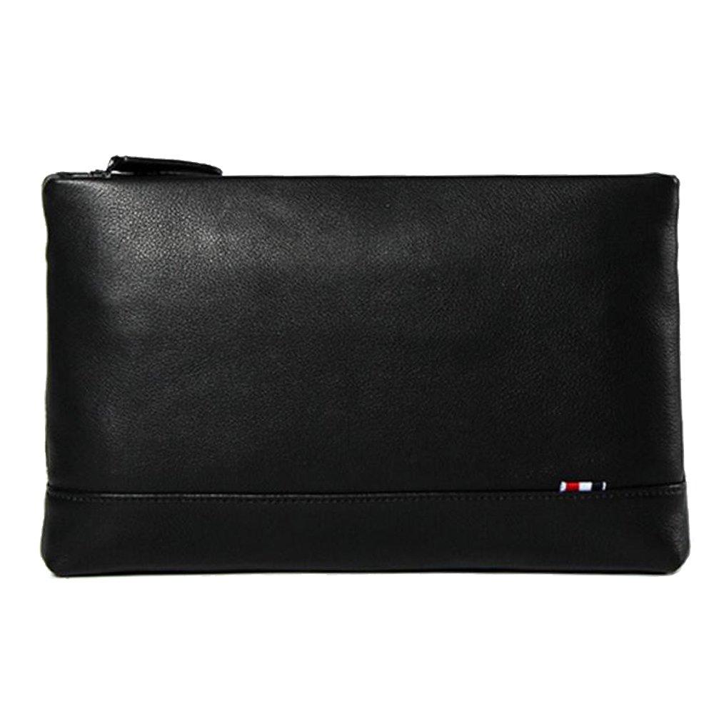 JIANFCR Hochwertige Leder Clutch Bag Große Kapazität Leder Clutch Bag Geschäft Casual Tasche Multifunktions-Handtasche
