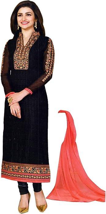bbaefe31b691c Amazon.com  Designer Wedding Partywear Embroidered Salwar Kameez Georgette  India  Clothing