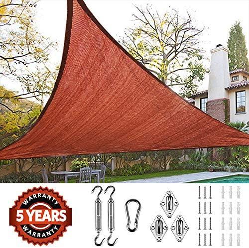 Xtarps – 8 ft. x 10 ft. – 7 oz Premium 90 Shade Cloth, Shade Sail, Sun Shade Green Color