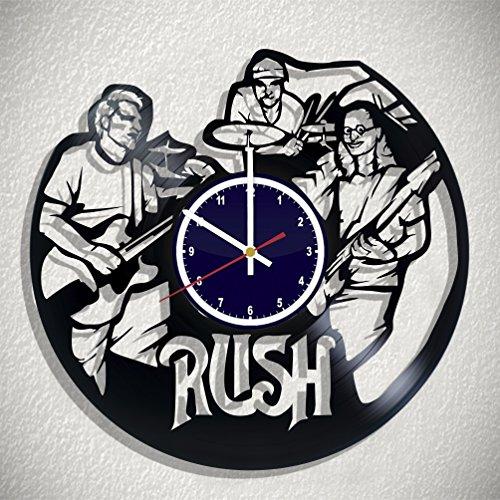 (Time4Vinyl Record Rush wall clock, Rush original wall poster, Rush decal)