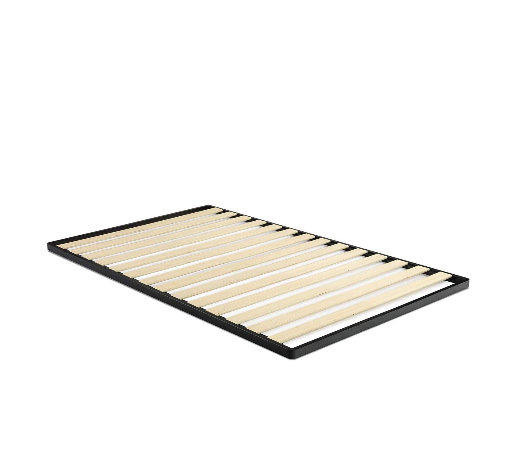 Easy Assembly Wood Slat 1.6 Inch Bunkie Board/Bed Slat Replacement, Queen Comfy Living Home Décor Furniture Heavy Duty