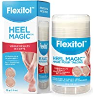 Flexitol Heel Magic - For Dry Skin or Rough Heels, Diabetic Friendly, Contains Shea Butter & Vitamin E - Protects and…