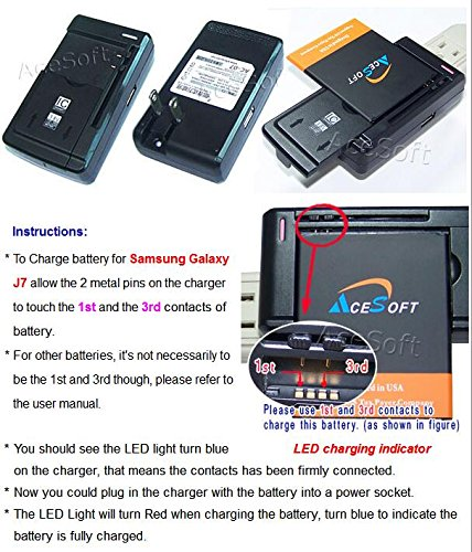 amazon com samsung galaxy j7 battery 1 x universal battery rh amazon com Schumacher Battery Charger Instruction Manual Schauer Battery Charger Manual