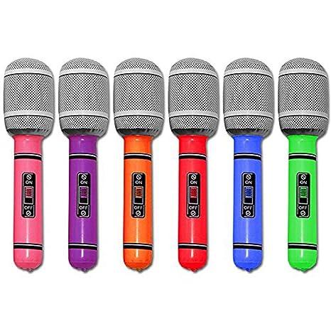 Sungpunet - Micrófono hinchable universal para fiestas y ...