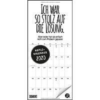 Funi Smart Art Notizkalender 2020 – Wandkalender – Funny Quotes, Sprüche – Format 22 x 49,5 cm