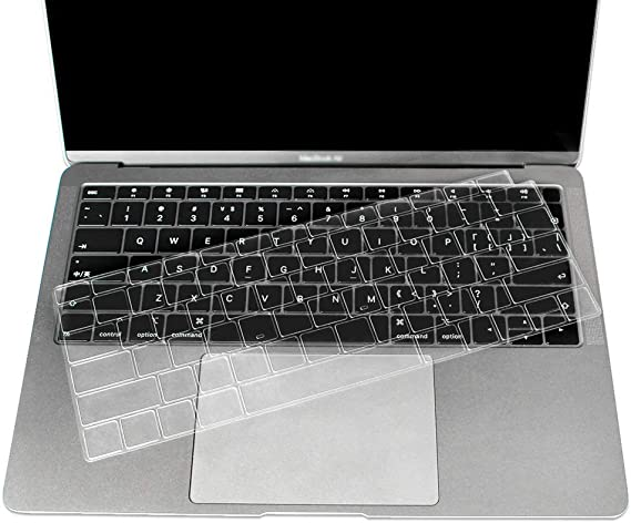 Laptop Keyboard Cover for MacBook air 13 pro 15 inch US Silicon Keyboard Cover Color Protective Film-L