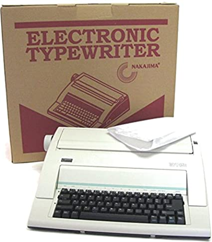 Amazon.com : Nakajima Electronic Typewriter WPT-150 with Correct Film Ribbon and Blow Off Air Duster Bundle : Electronics