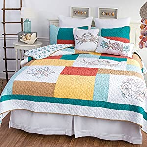 61Iuh19UDwL._SS300_ Coastal Bedding Sets & Beach Bedding Sets