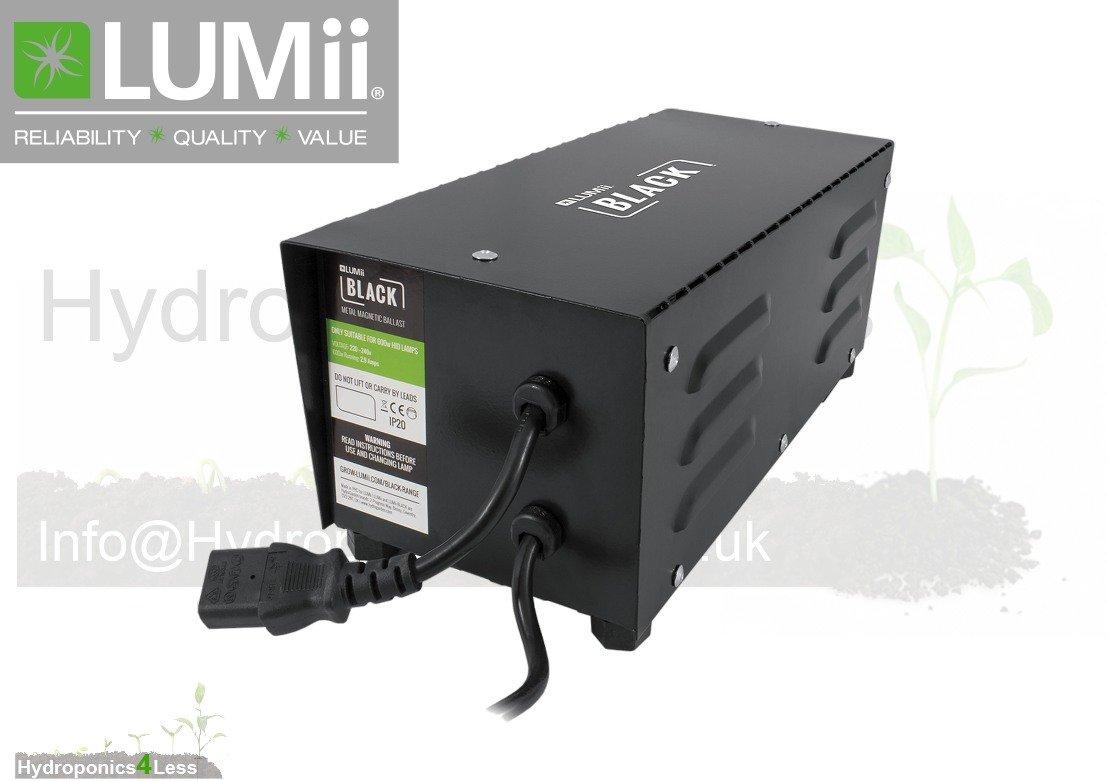 LUMii Compacta 400w or 600w Quiet Running Ballast Grow Light Hydroponics HPS MH (600w) hydroponics4less