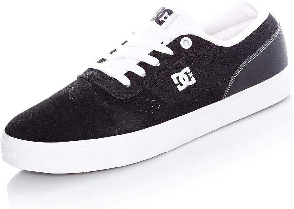 DC Shoes Switch Plus S Sneakers Schwarz/Weiß