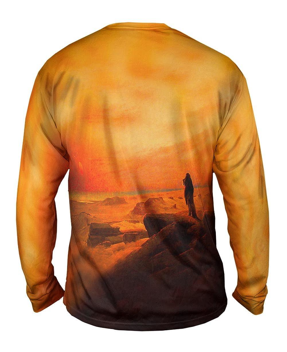 Yizzam- Jean-Leon Gerome The Two Majesties -TShirt- Mens Long Sleeve 1883