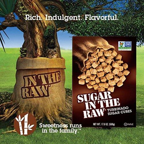 Sugar In The Raw Turbinado Sugar Cubes, 17.6 Ounce (Pack of (Natural Turbinado Sugar)