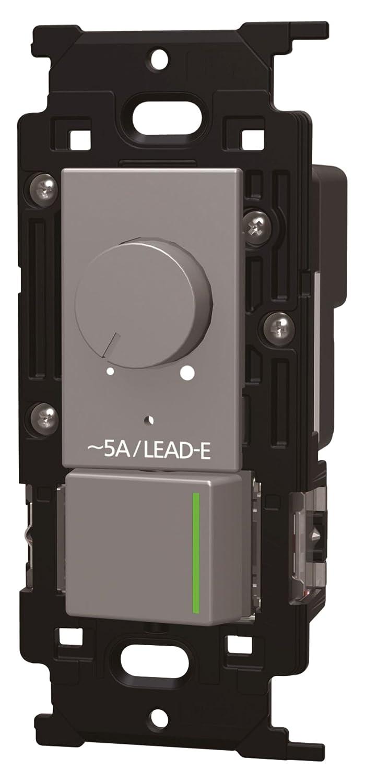 神保電器 NKWライトコントロール 正位相制御方式埋込ライトコントロール+3路ガイドランプ付きスイッチ ソリッドグレー NKW-RLE5S3G SG B076P6VKZD