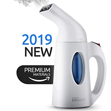 Steamer For Clothes  [Update 2019] 7-in-1 Powerful Multi-Use: Clothes Wrinkle Remover-Clean-Sterilize-Sanitize-Refresh-Treat-Defrost- for Garment/Home/Kitchen/Bathroom/Car/Face/Travel