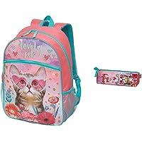 Mochila Infantil Lovely Pets de Costas G Pacific + Estojo