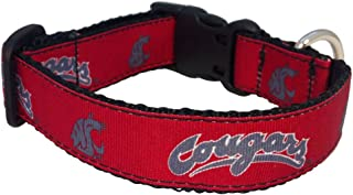 product image for NCAA Washington State Cougars Dog Collar (Team Color, Small)